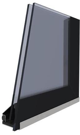 Druhé sklo modern
