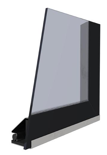 Sklo modern